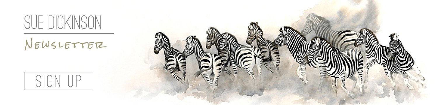 Sue Dickinson South African Wildlife Artist